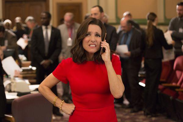 Julia Louis-Dreyfus in a sixth-season episode of HBO's