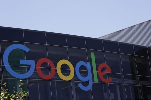 FILE - This Tuesday, July 19, 2016, file photo shows the Google logo at the company's headquarters in Mountain View, Calif. (AP Photo/Marcio Jose Sanchez, File)