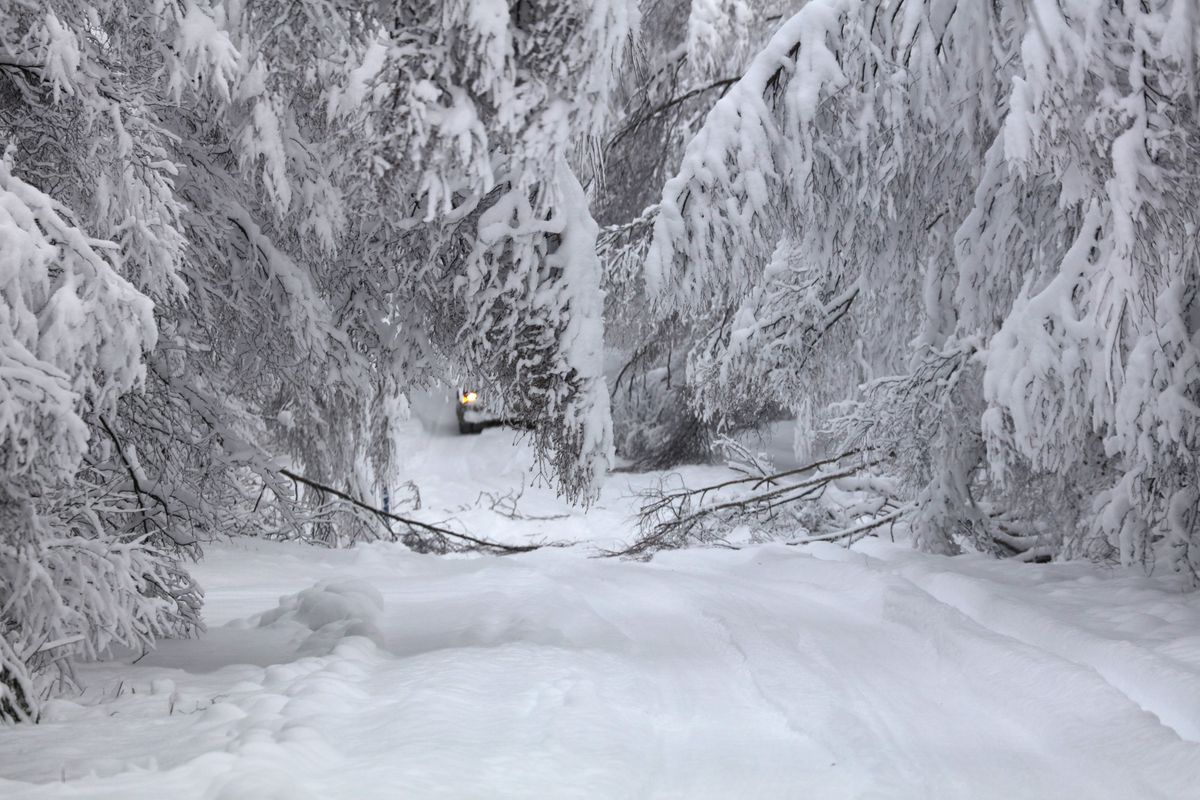 A power outage in Kenai lasted three days, early in December 2019. (Photo by Steve Meyer)
