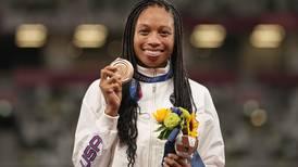 US runner Allyson Felix sets new women's Olympics medal record
