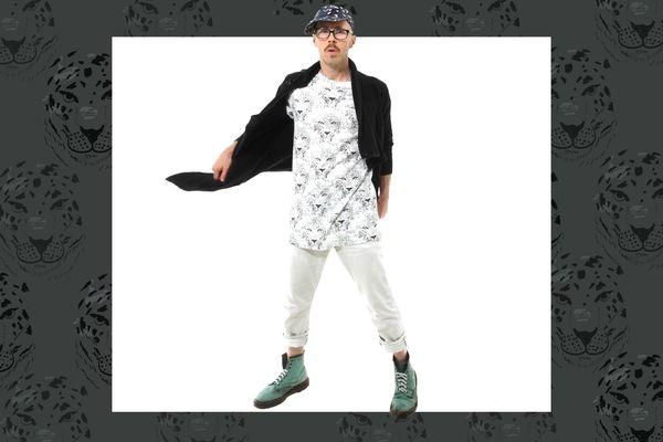 Alaska fashion designer Ben Ellis headed to the Big Apple to display his designs on fashions biggest stage -- New York Fashion Week. Photo by Bob Toy. (Illustration by Rejoy Armamento / Alaska Dispatch News Creative Services)