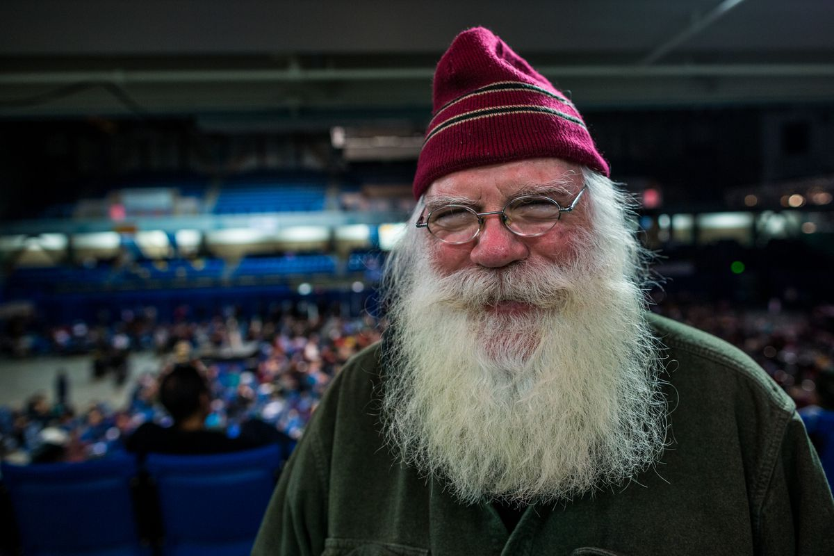 Santa Claus of North Pole, Alaska (Loren Holmes / Alaska Dispatch News)