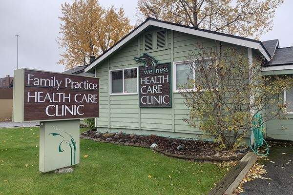 The Eagle River Wellness clinic in Eagle River on Wednesday, Oct. 9, 2019. (Matt Tunseth / Chugiak-Eagle River Star)