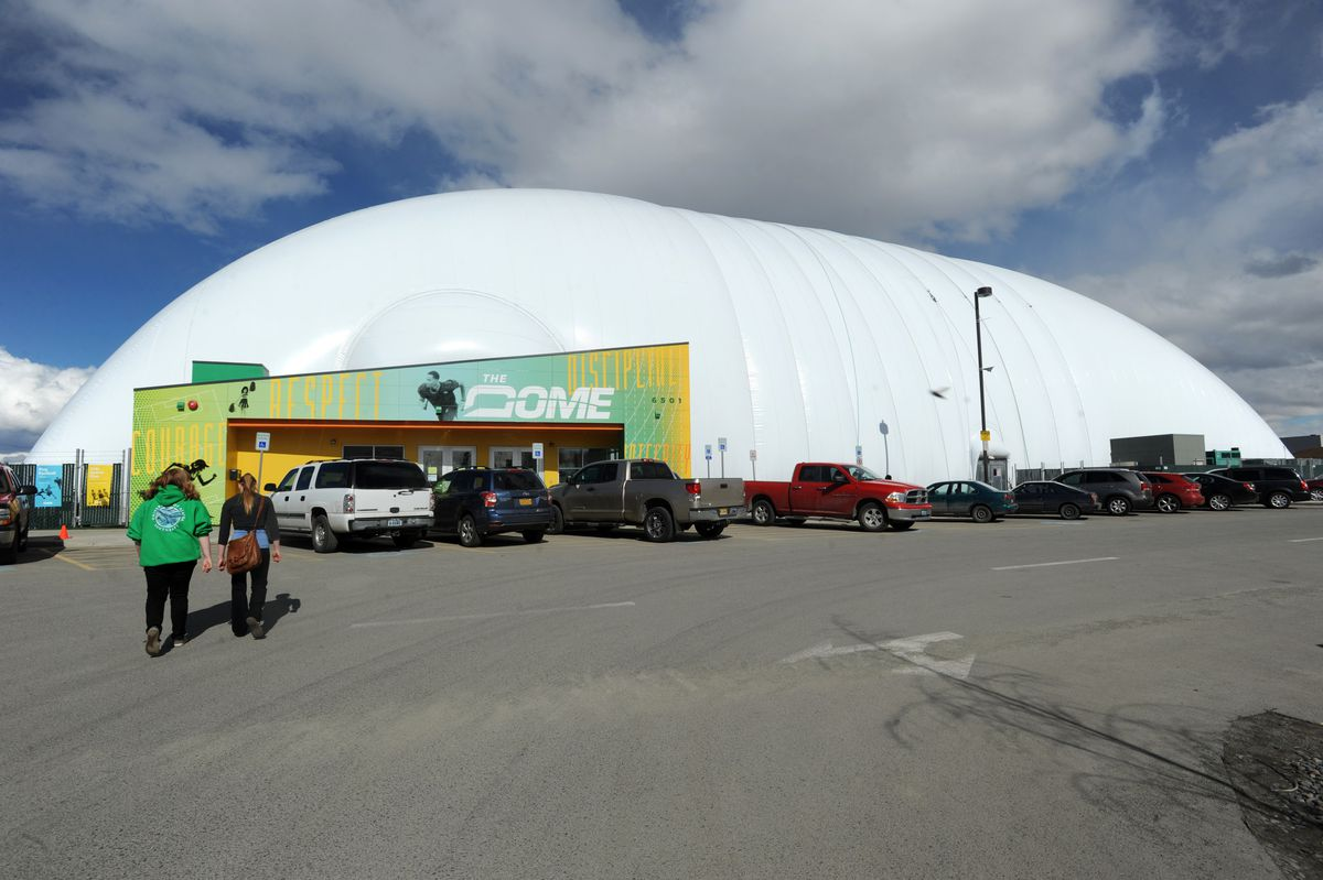 The Dome will reopen on Monday. (Erik Hill / ADN archive)