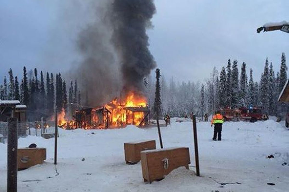 Willow Mushers Lose Home They Built To Fire Residents And