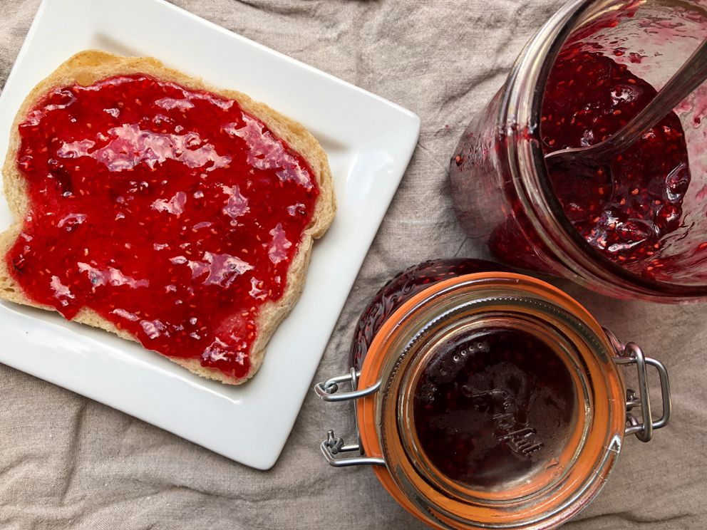 Raspberry jam. (Julia O'Malley / ADN)