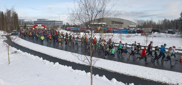 About 3,400 runners and walkers participated in the timed 5K and the untimed 3K and 5K. (Photo by Bob Hallinen)