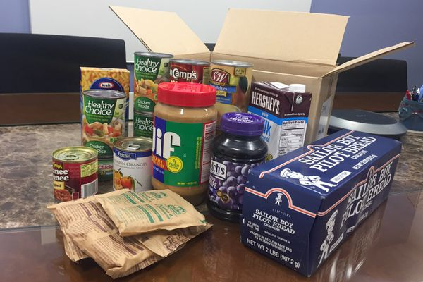Alaska Trauma and Acute Care Surgery, a surgical clinic at Providence Alaska Medical Center, has been handing out boxes of food since July 2018 to patients who qualify as