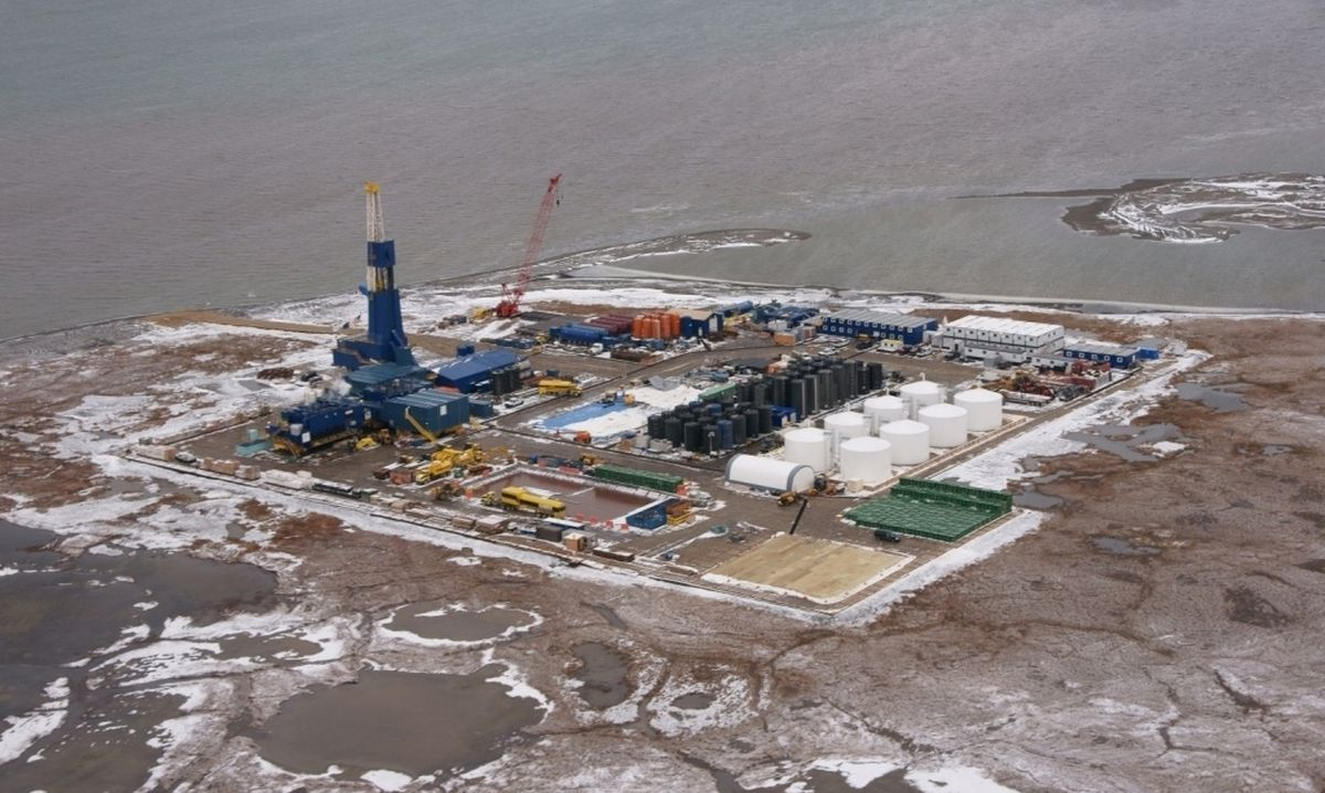 The ExxonMobil facility at Point Thomson on Alaska's North Slope. ( Business Wire)