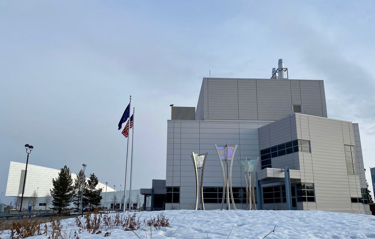 The Alaska State Virology Laboratory on the UAF campus. (Photo by Anna Rozell)
