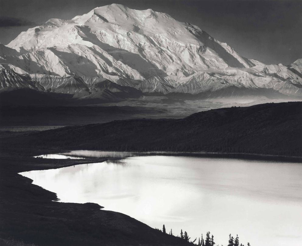 1948 print of iconic Denali photo by Ansel Adams is up for auction