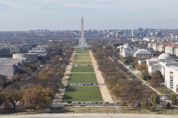 The National Mall in Washington, D.C. (Washington Post photo)
