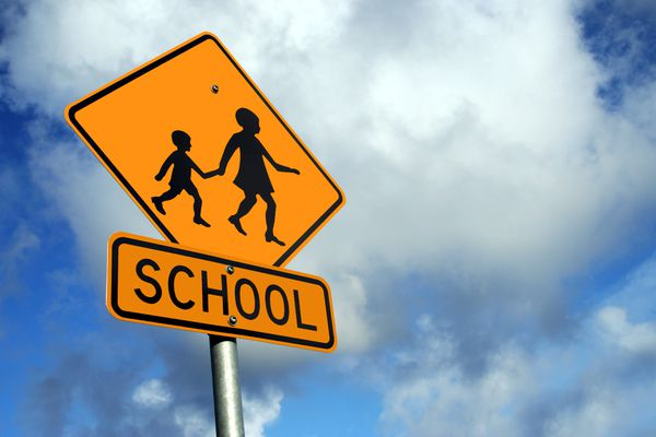 School crossing sign (Getty Images)