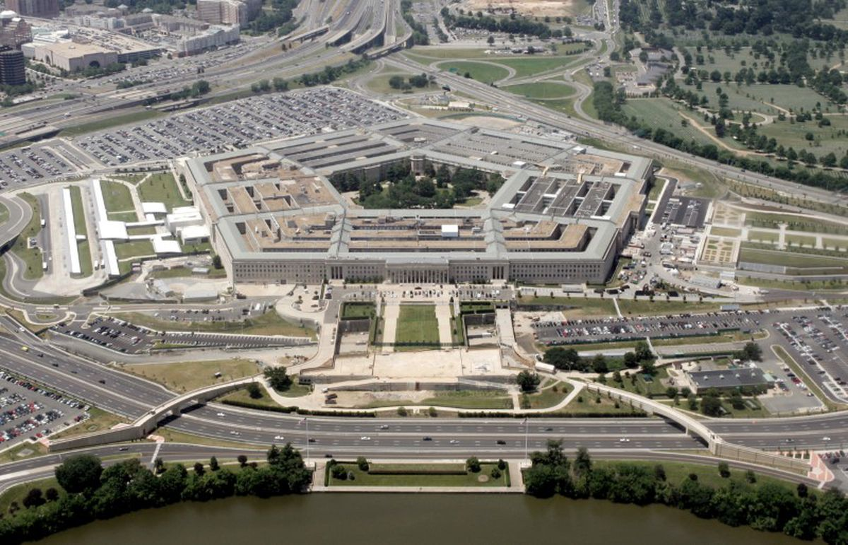 An aerial view of the Pentagon in Washington, June 15, 2005. (Jason Reed / Reuters file)