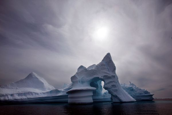 OPINION: Alaska and Greenland can learn from each other as partners in the north. Pictured: An iceberg melts off Ammassalik Island in eastern Greenland.