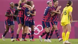 U.S. women's soccer beats Australia to bring home a bronze medal