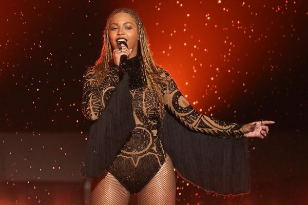 FILE - In this June 26, 2016, file photo, Beyonce performs