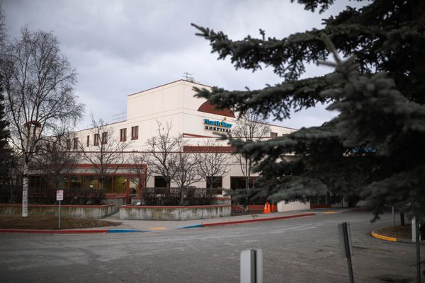 North Star Hospital on Debarr Road in Anchorage. April 18, 2018. According to the North Star website, the facility provides inpatient acute care to children and teens, ages 4 – 18. (Loren Holmes / ADN)
