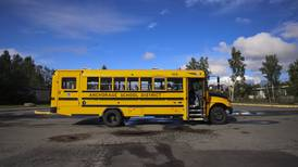 Anchorage School District temporarily suspends some bus routes due to COVID-19, driver shortage