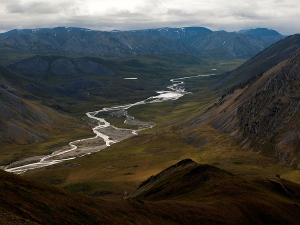 FILE: The Kongakut River in the Arctic National Wildlife Refuge (Photo by Richard J. Murphy)