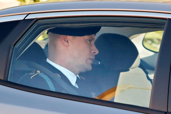 U.S. Army Sergeant Bowe Bergdahl leaves the courthouse after taking the stand on the fourth day of sentencing proceedings in his court martial at Fort Bragg, North Carolina, U.S., October 30, 2017. REUTERS/Jonathan Drake