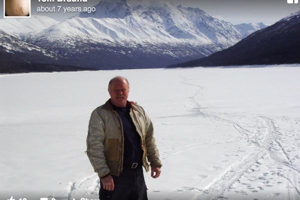 Tom Braund of Sutton screengrab via Facebook