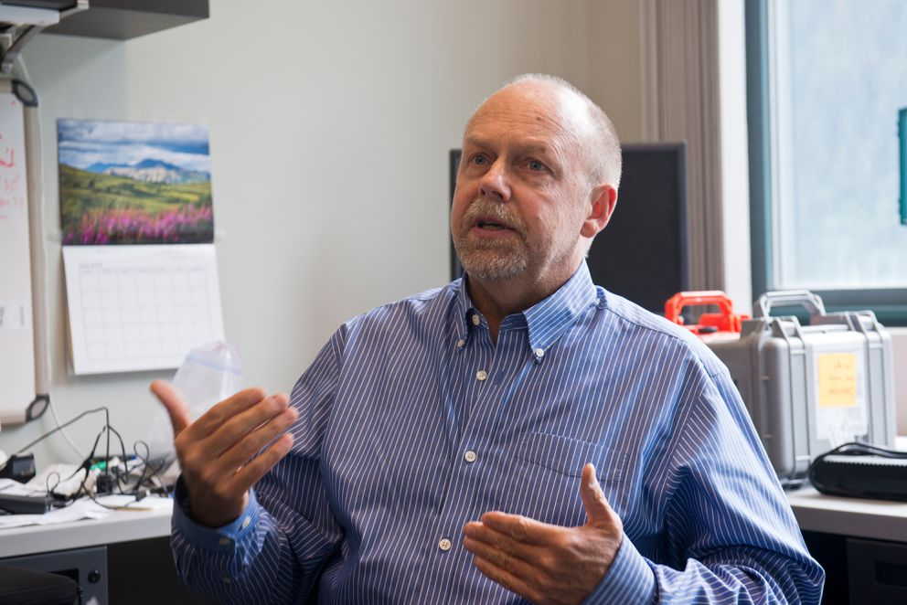 Markus Horning, science director for the Alaska SeaLife Center in Seward, said he hopes Seward's role will only become more important to scientific research being conducted in the Arctic. (Marc Lester / Alaska Dispatch News)
