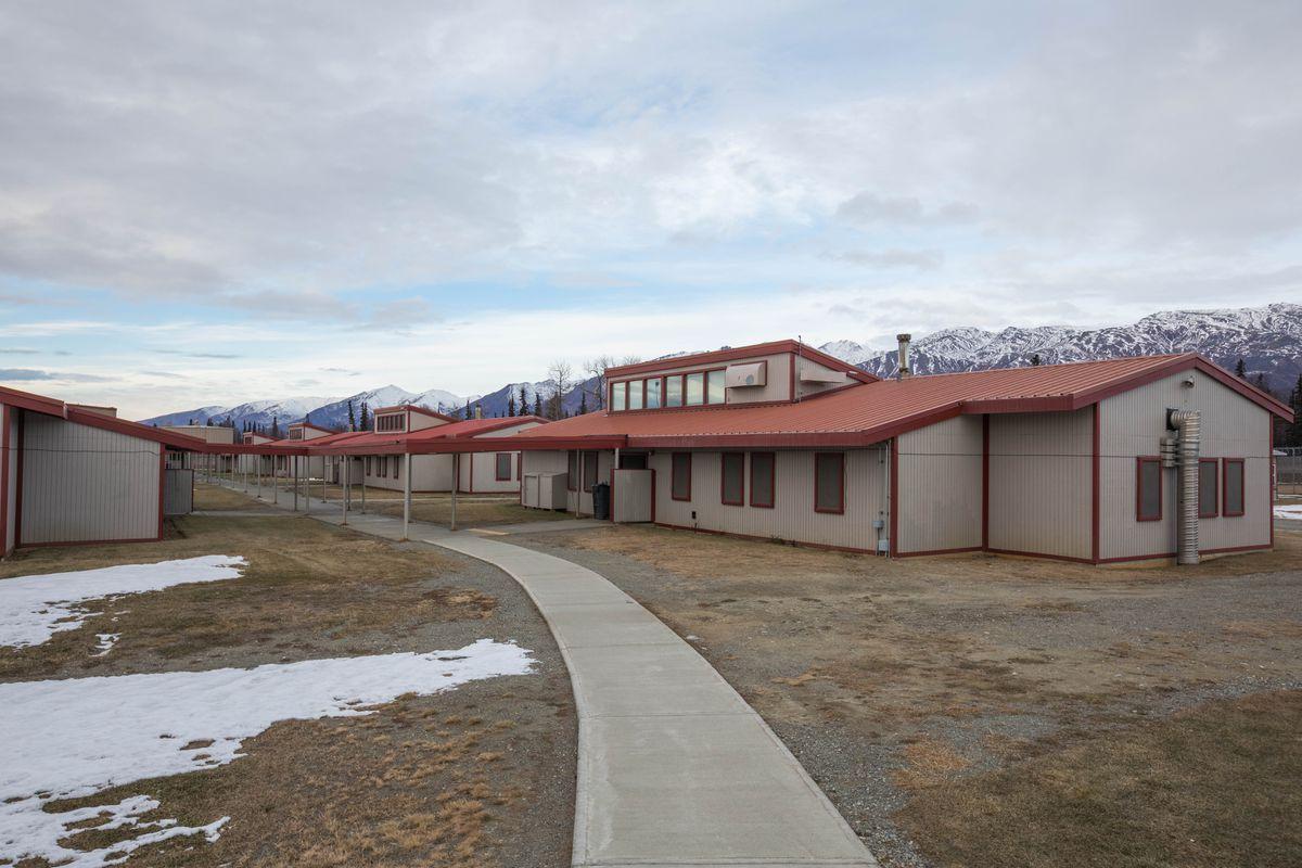 The medium-security area at Palmer Correctional Center, on Nov. 8, 2016. (Loren Holmes / ADN archive)