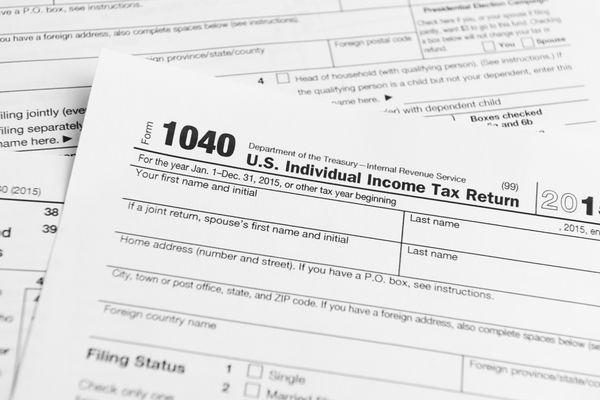 1040 U.S. Individual Income Tax Return