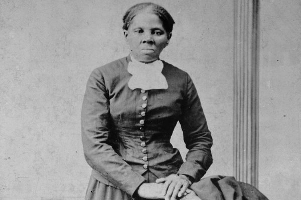 Harriet Tubman in a photo dated between 1860 and 1875.