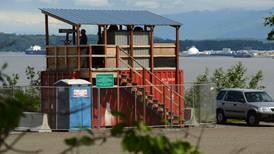 Curious Alaska: What are shipping containers with observation decks doing along the Anchorage waterfront?