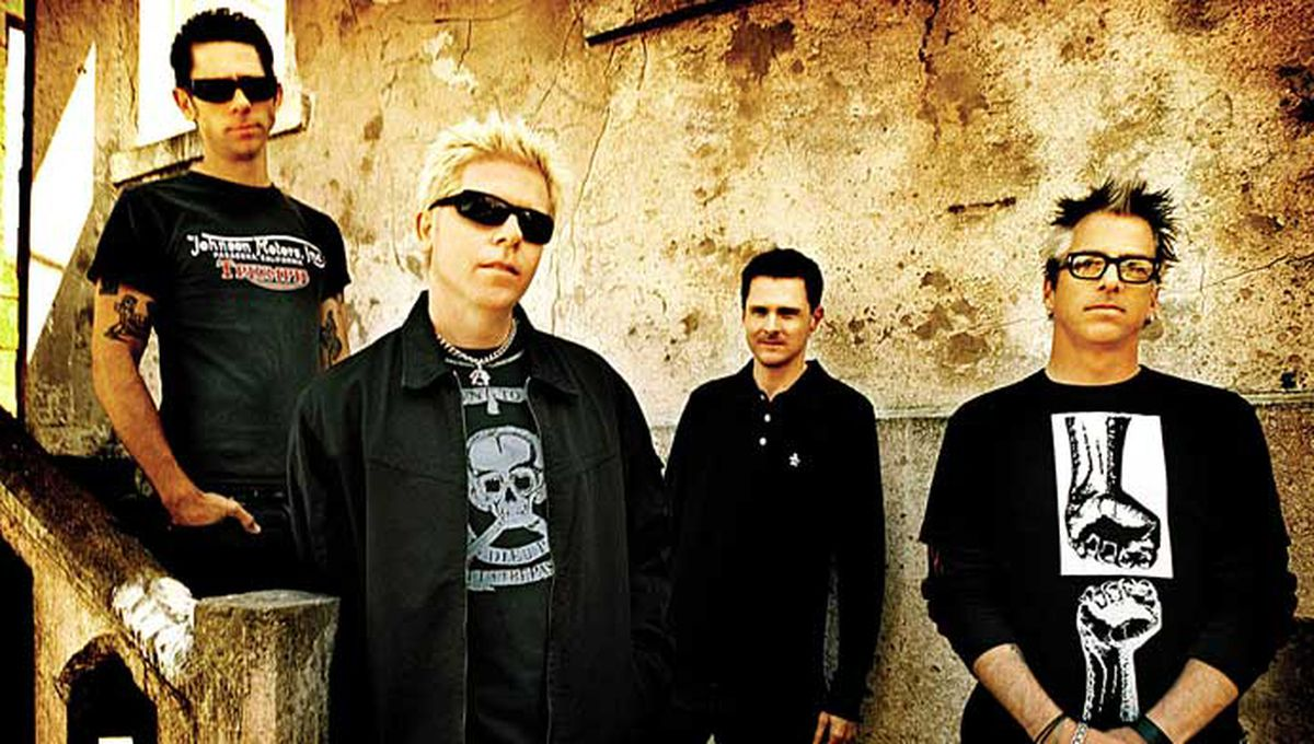 The Offspring will play Saturday, Oct. 29, at the Alaska Airlines Center in Anchorage.