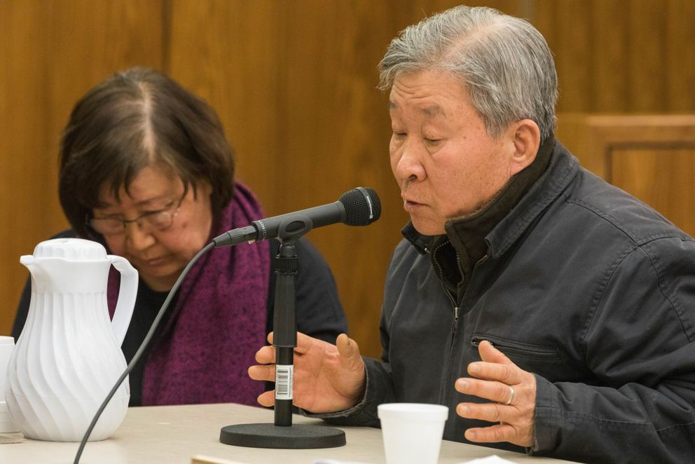 Jin Bong So  pleaded no contest to charges stemming from an incident earlier this year where he shot an air gun at a neighbor's dog that was barking. (Loren Holmes / Alaska Dispatch News)