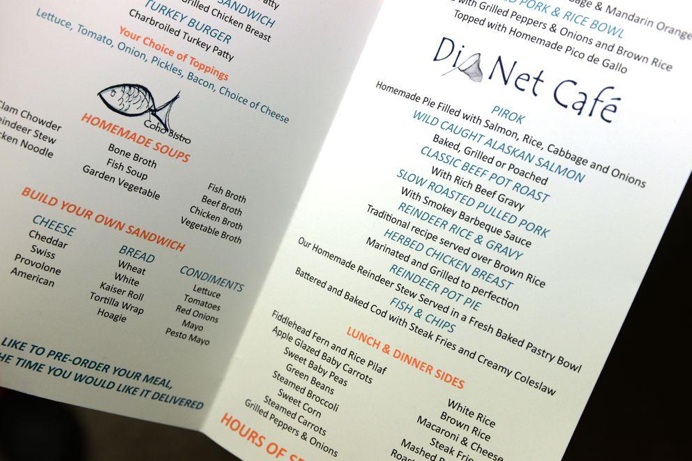 Over half the items on patient menus now feature subsistence foods at Alaska Native Medical Center. (Erik Hill / Alaska Dispatch News)