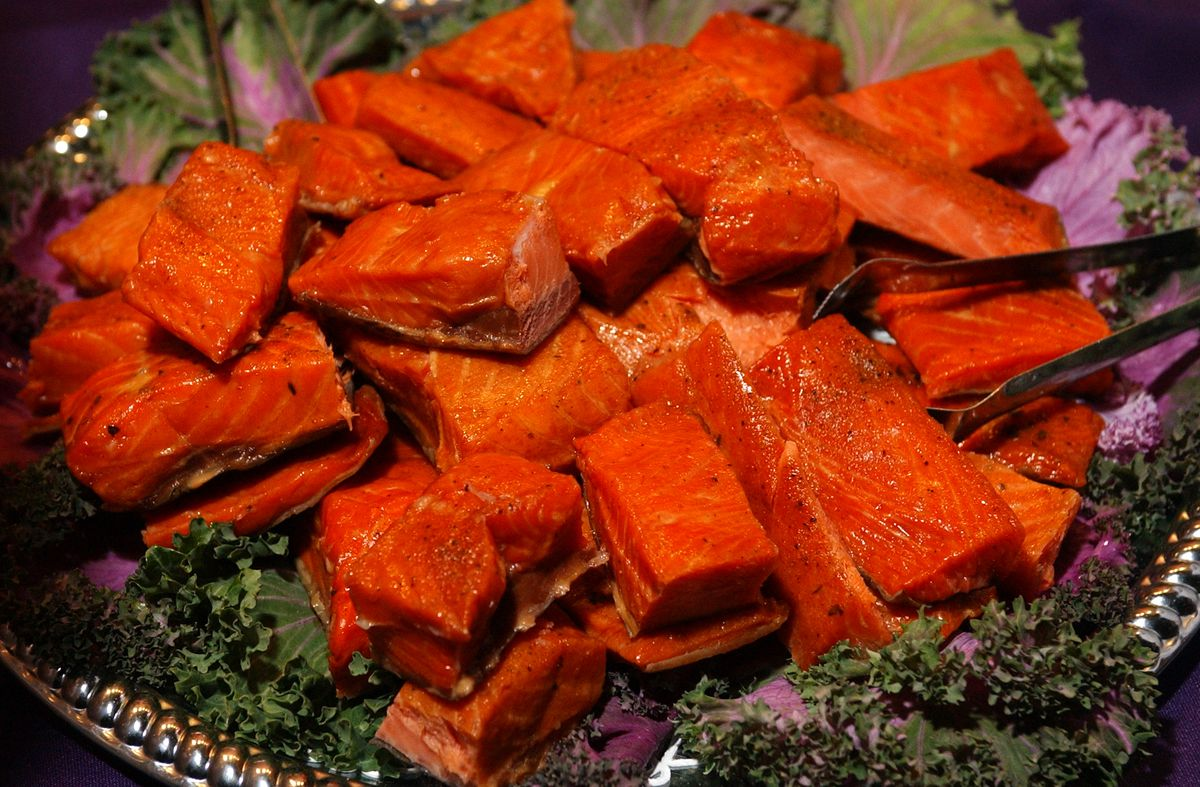 Smoked salmon. (Erik Hill / ADN archive)