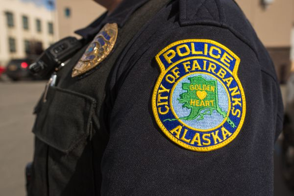LOREN HOLMES / Alaska Dispatch News A City of Fairbanks police officer, photographed on September 9, 2015.