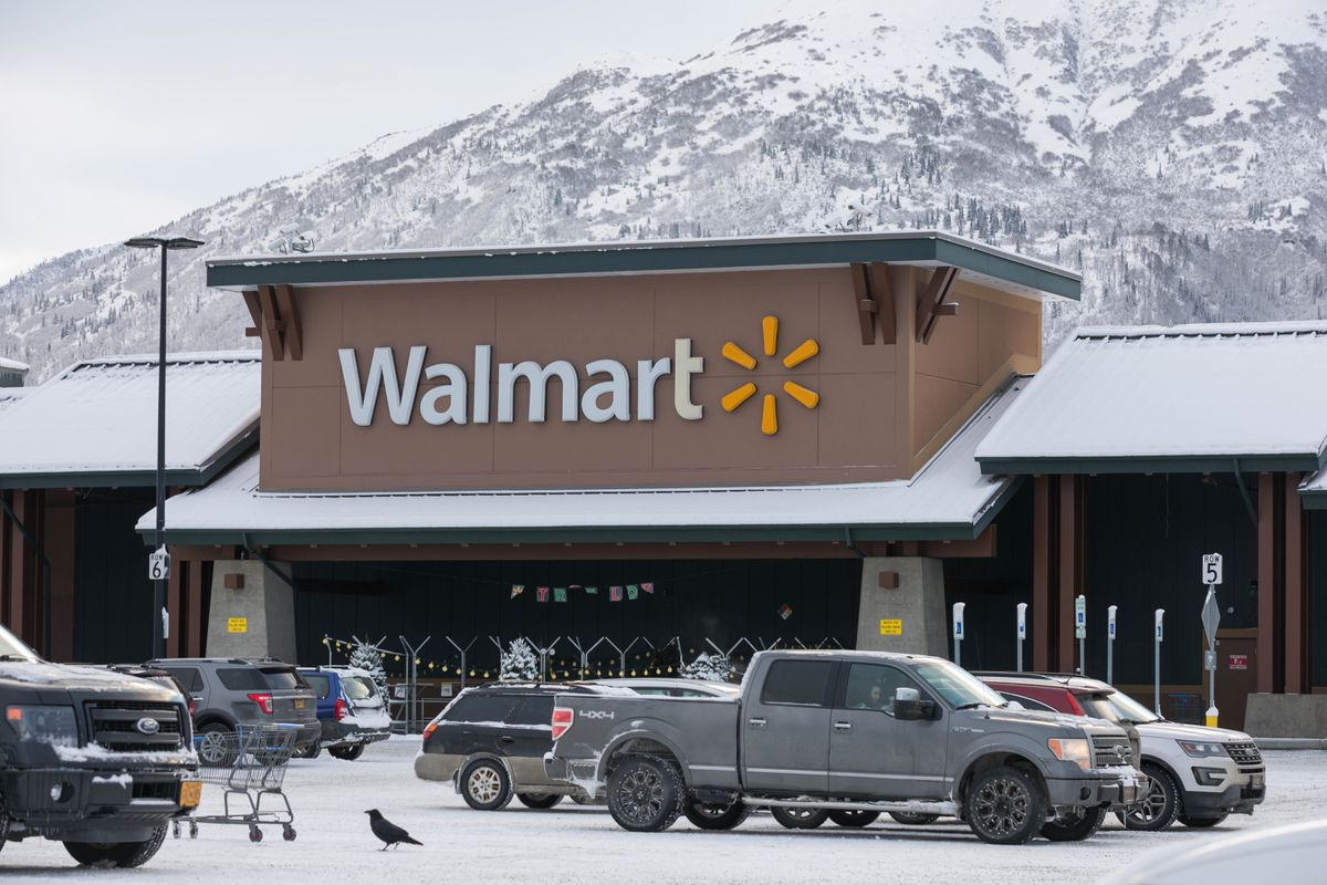 The Eagle River Walmart, photographed on Thursday, Dec. 13, 2018. (Loren Holmes / ADN)