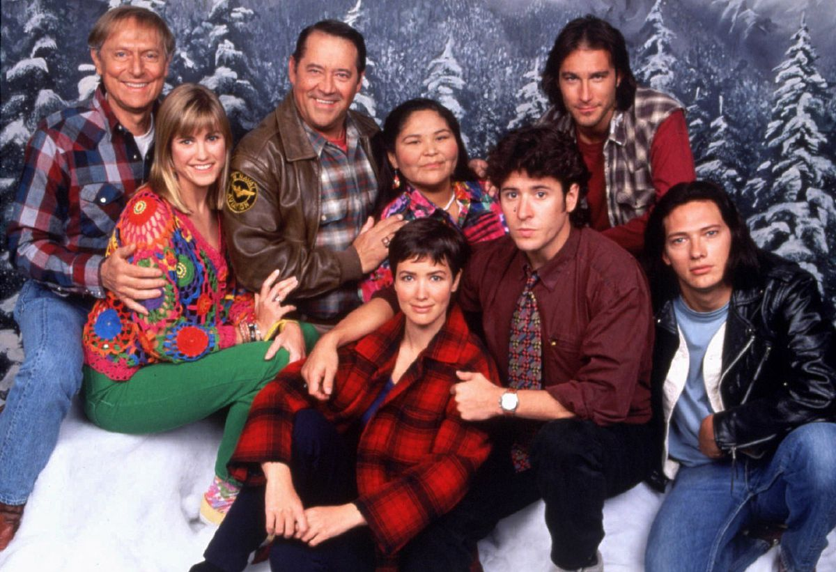 FILE--Members of the 'Northern Exposure' cast are shown in this 1993 file photo. (AP Photo/CBS)