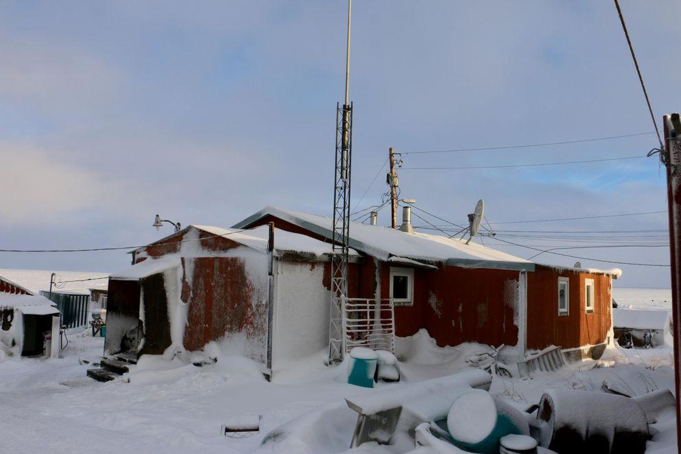 Rosalie Kalistook's father, Paul Tunuchuk's home (Christine Trudeau / KYUK)