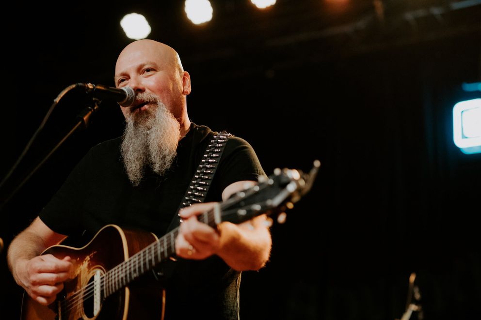 """Kendell Marvel — who has written some 60 songs with Chris Stapleton, including the Grammy-winning hit """"Either Way"""" — has helped Brad Erickson recruit artists to the Backyard Country BBQ since it started in 2013. (Photo courtesy Kendell Marvel)"""