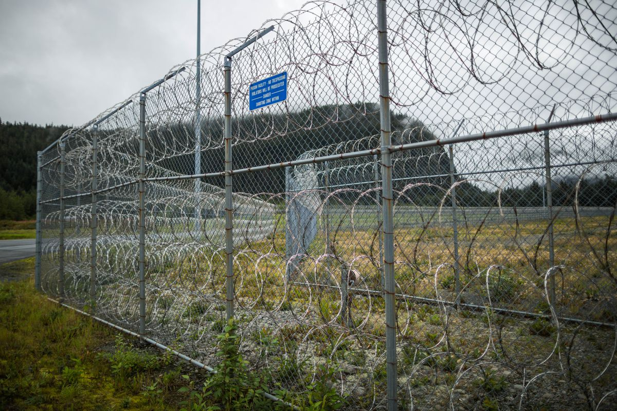 Spring Creek Correctional Center, Seward. (Loren Holmes / Alaska Dispatch News)