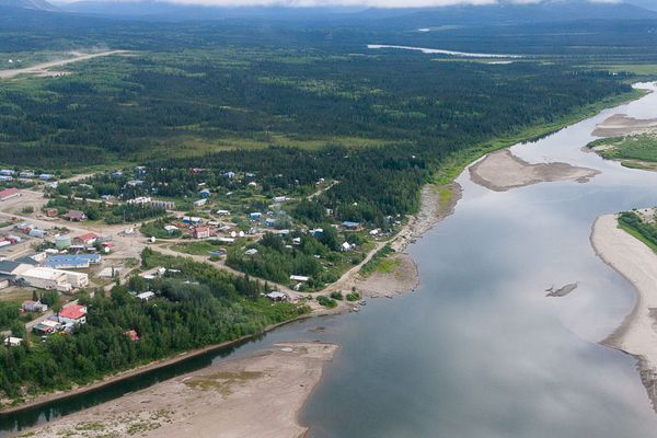 The community of Ambler was established in 1958 by villagers from Kobuk and Shugnak who were seeking greater fish and game access. At the village of Ambler, the Kobuk River meets the Ambler River.
