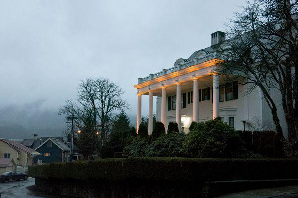 The Governor's Mansion in Juneau on Thursday, April 16, 2015. (Marc Lester / ADN)