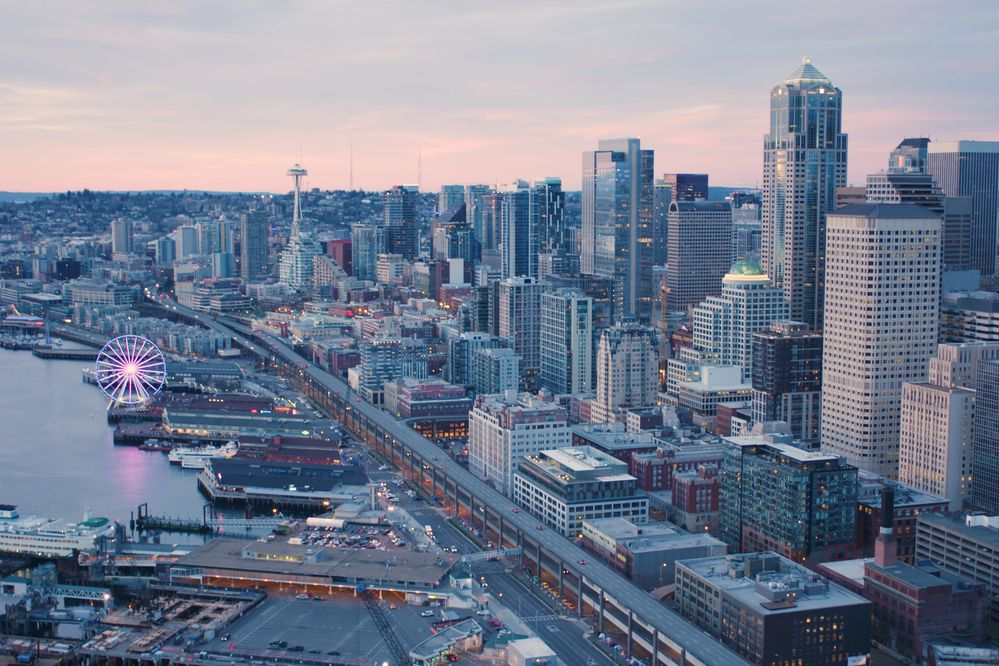Downtown Seattle. (iStock / Getty Images)