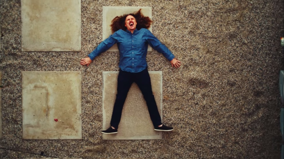 'Weird Al ' Yankovic in 'Who's Gonna Stop Me, ' a new single from Portugal. The Man