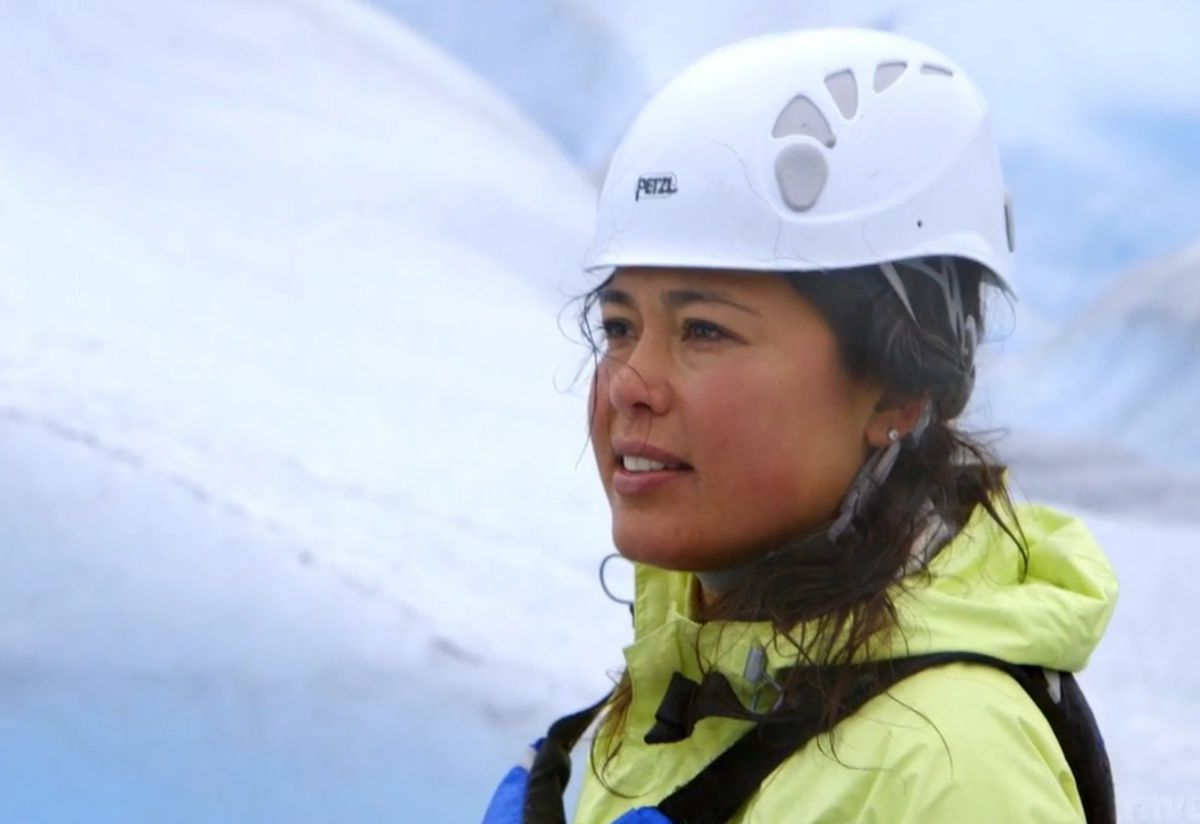 "Ariel Tweto's new show ""True Alaska"" premiered on the Travel Channel Wednesday, Nov. 8. (Screen capture via Travel Channel)"