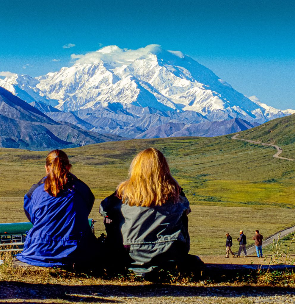 Amazing Denali, also known as Mount McKinley, its former official name, is the highest mountain peak in North America, with a summit elevation of 20,310 feet above sea level. (Steve Haggerty/ColorWorld/TNS)