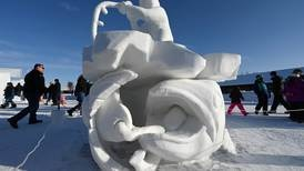 Anchorage Fur Rondy snow sculptures capture whimsy and fun of Alaska life