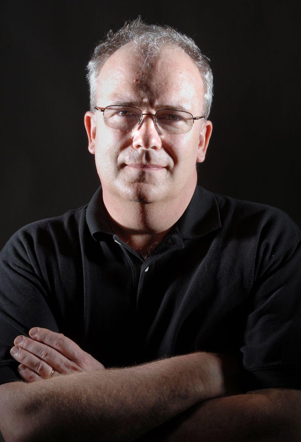 Former Alaska writer laureate John Straley (Jim Lavrakas / ADN archive 2008)