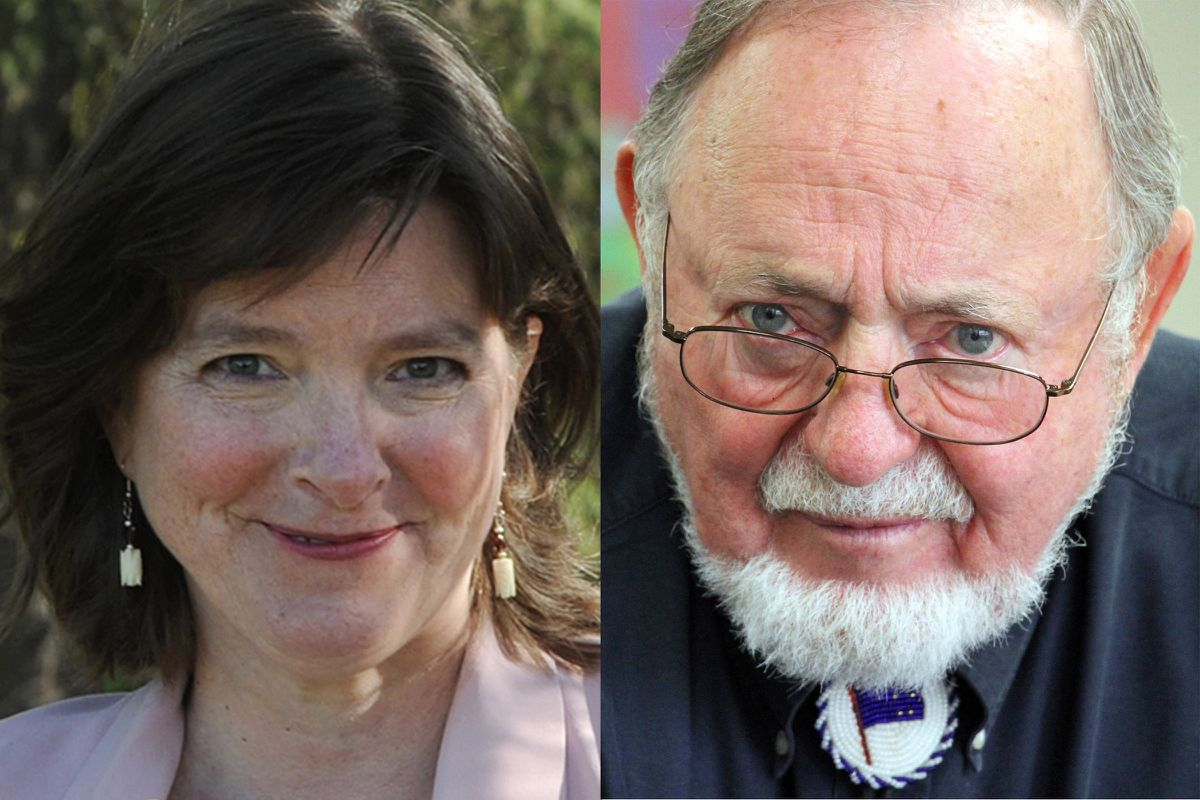 Alyse Galvin and Don Young are vying for the US House seat in Congress.